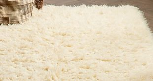 White Flokati Rug | Crate and Barrel