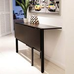 Folding dining table is a good   option to those who have limited space