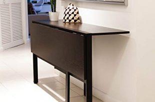 Amazon.com: Mix Tokyo Folding Dining Table Espresso: Kitchen & Dining