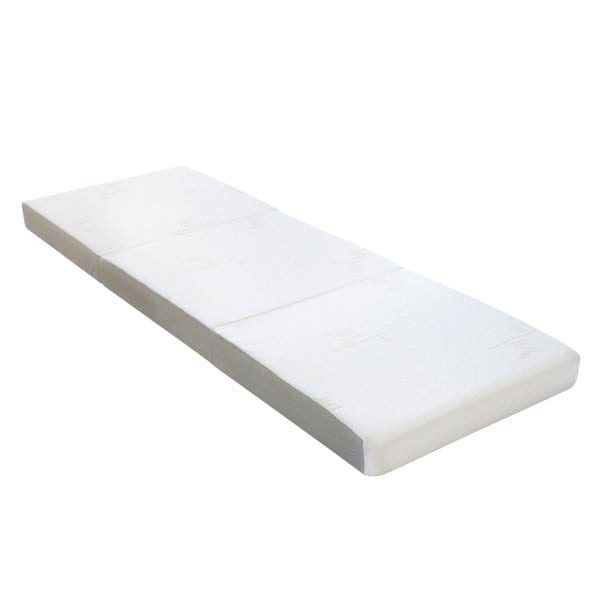 Shop Milliard 4-inch Tri Folding Mattress Cot Size (25
