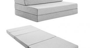 Amazon.com: LUCID 4 Inch Folding Mattress and Sofa with Removable