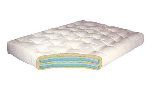 Double Foam 10 Inch Futon Mattress by Gold Bond