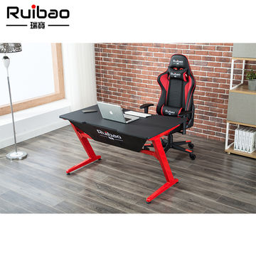 China PU Leather Gaming PC Computer Desk from Huzhou Manufacturer