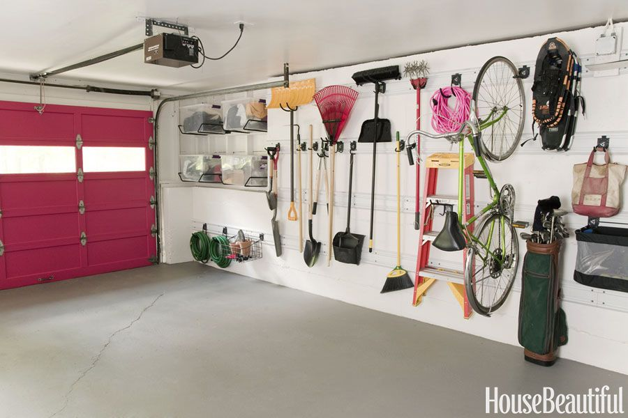 14 Smart Garage Organization Ideas - Garage Storage and Shelving Tips