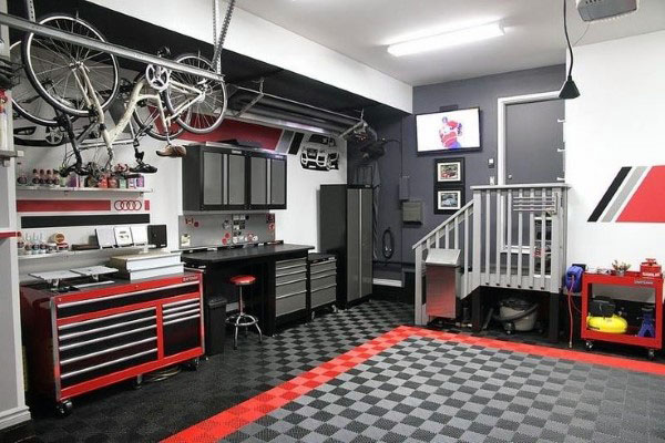100 Garage Storage Ideas for Men - Cool Organization And Shelving