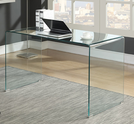 Glass Desk | Intaglia Home Collection - An Atlanta Furniture Store