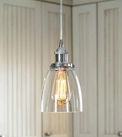 LightLady Studio - Mini Glass Pendant Light - Kitchen Pendant