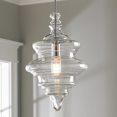 Glass Pendant Lights   Clear & Blown Glass Pendants - Shades of Light