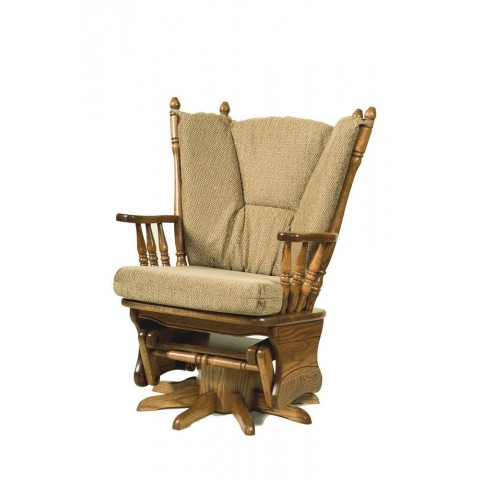 Swivel Glider Rocker - Peaceful Valley Amish Furniture