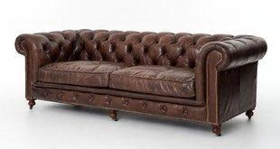 Full Grain Leather Sofa | Wayfair