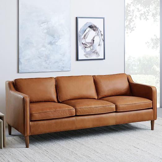 Hamilton Leather Sofa (81