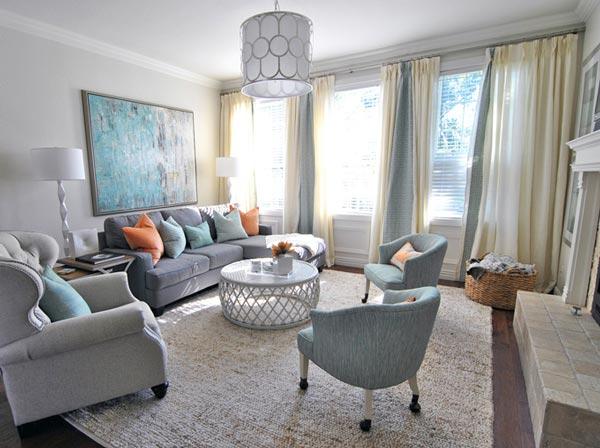 75 Charming Gray Living Room Photos | Shutterfly
