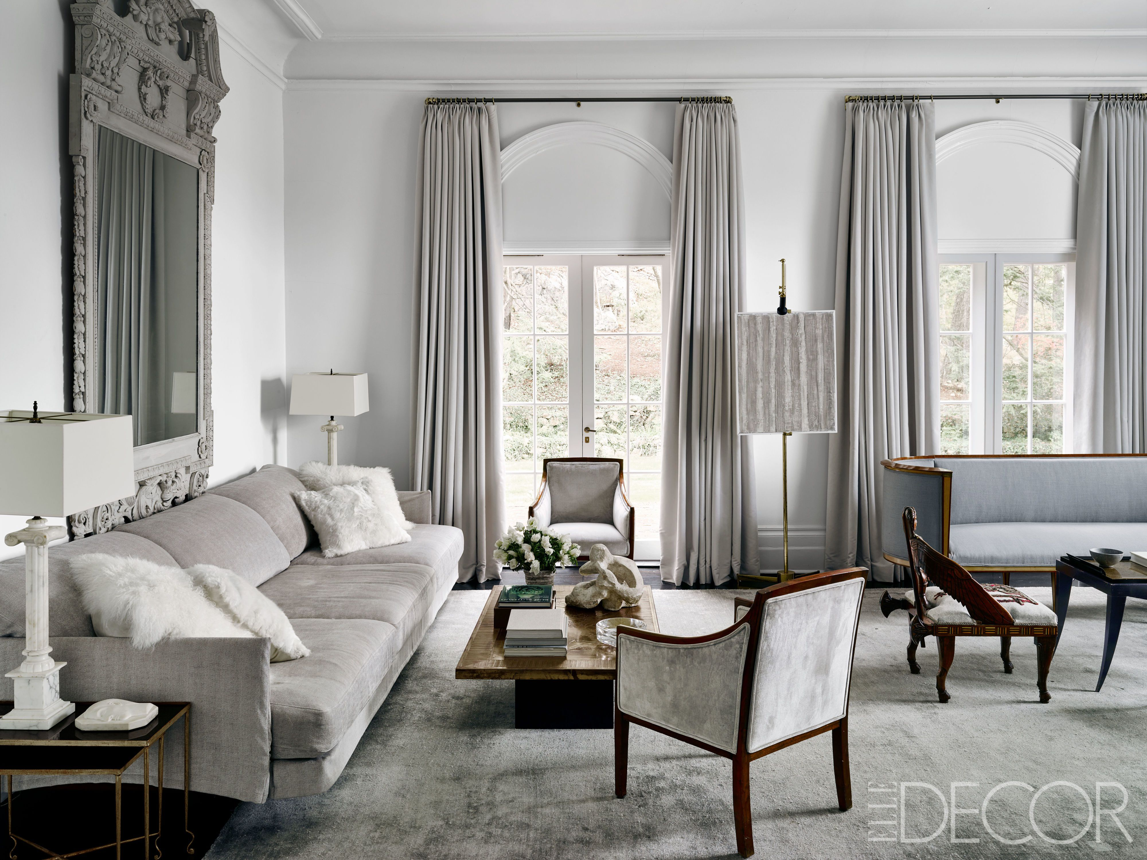 Effective Gray Living Room Ideas - Decorifusta