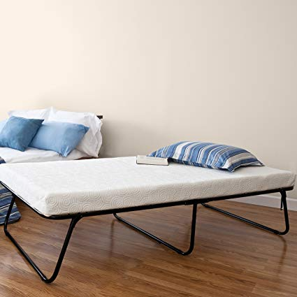 Amazon.com: Zinus Traveler Premier Folding Twin Guest Bed, Plus