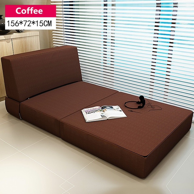 Modern Tri Fold Guest Bed with Washable Cover Bedroom Furniture