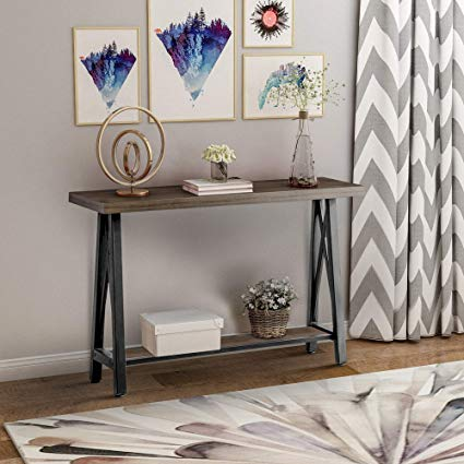 Amazon.com: Console Table Entryway Table Hallway Table with Storage