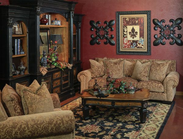 Hemispheres - A World of Fine Furnishings | Tuscan Decor I love