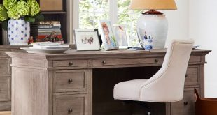 Livingston Executive Desk | Pottery Barn