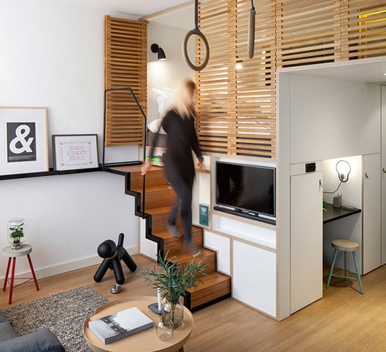10 small house interior design solutions - UPCYCLIST