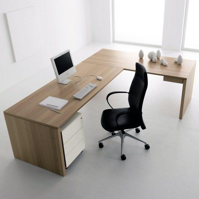 30 Inspirational Home Office Desks | Office Ideas | Modern home