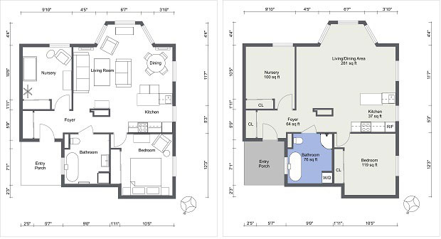 Create Professional Interior Design Drawings Online | RoomSketcher Blog