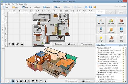 Interior Design 3D   Smart Interior Design Software