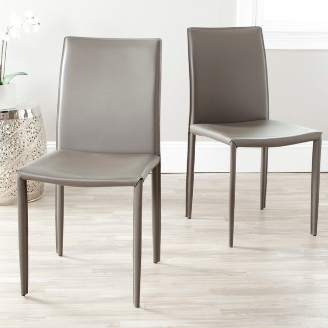 Modern Leather Dining Chairs - Thetastingroomnyc.com