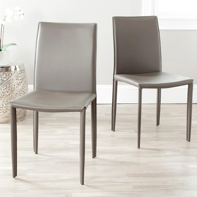 Modern Leather Dining Chairs - Thetastingroomnyc.com