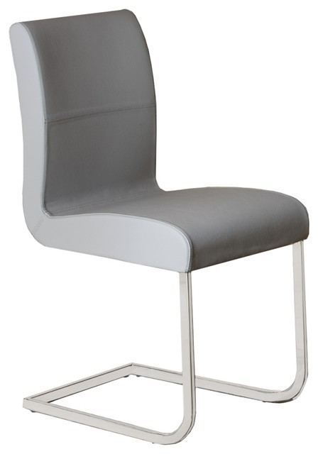 Casabianca Home Stella Italian Leather Dining Chair - Contemporary