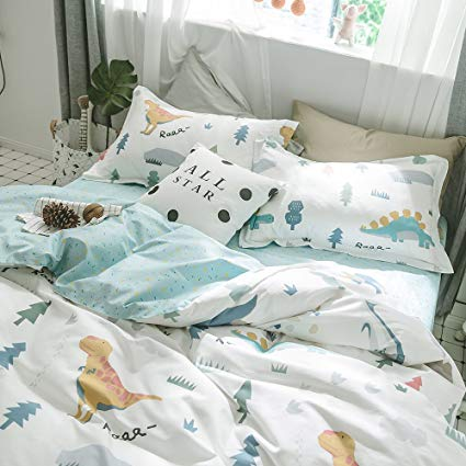 Amazon.com: HIGHBUY Queen Kids Bedding Sets Full Cotton Dinosaur