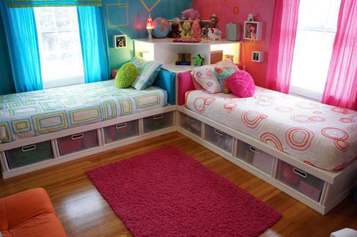 Creative Kid's Bedroom Storage Ideas