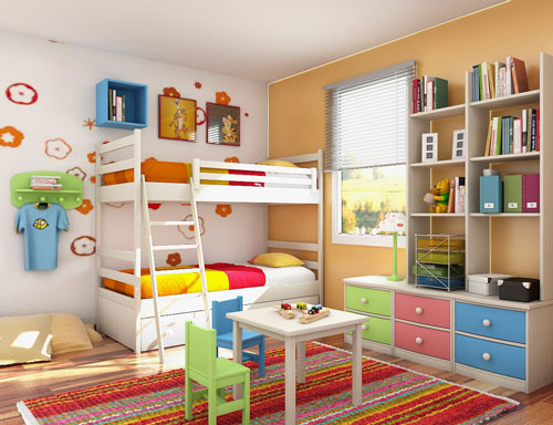 Kids Bedroom Storage Ideas | Home Design Ideas