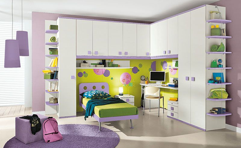 Kids bedroom storage   furniture-Choosing the modern one