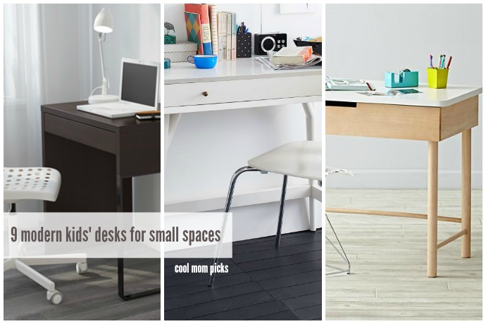 9 modern kids' desks for small spaces   Cool Mom Picks