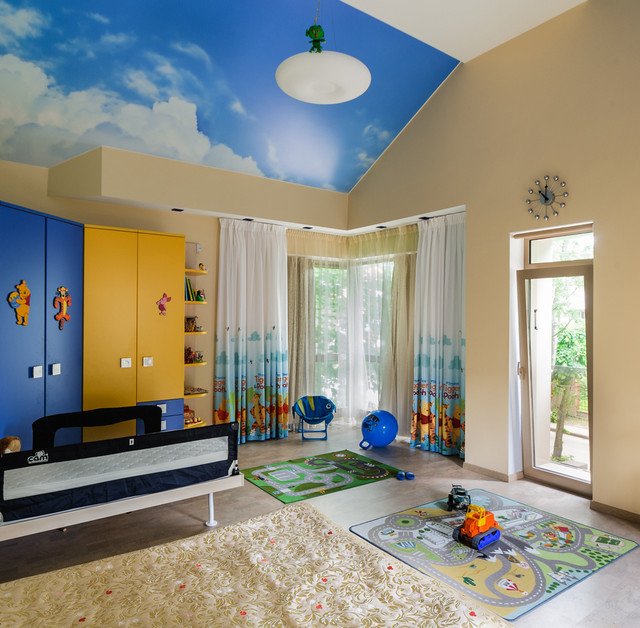 16 Playful Contemporary Kids' Room Designs To Give Comfort To Your