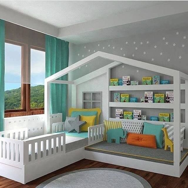 Designing a kids' bedroom and then decorating it aptly is both a