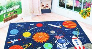 Amazon.com: HEBE Kids Rugs Non Skid Washable Children Educational