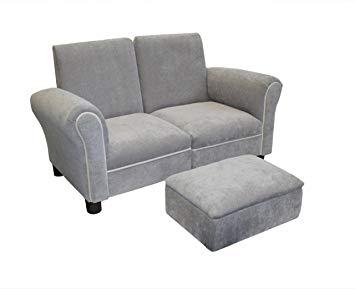 Amazon.com : Newco Kids Sofa Set, Grey : Childrens Upholstered