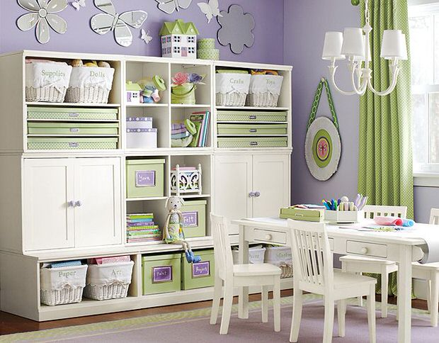 Storage Solutions for Kids' Rooms u2022 The Budget Decorator