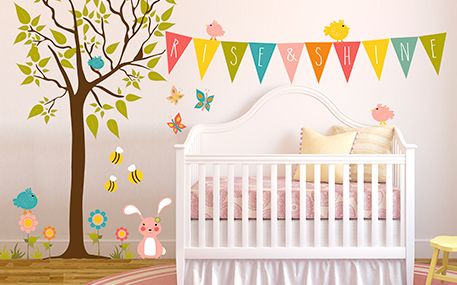 Removable Wall Decal & Wall Stickers | Oopsy Daisy-Fine Art for Kids
