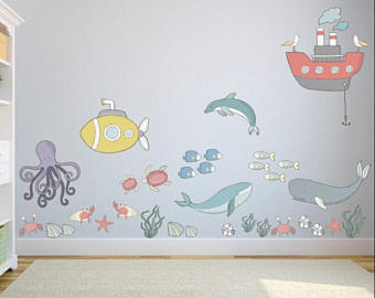Exciting kids wall decals