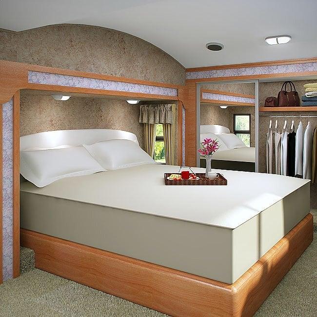 Shop Accu-Gold Memory Foam Mattress 13-inch California King-size Bed