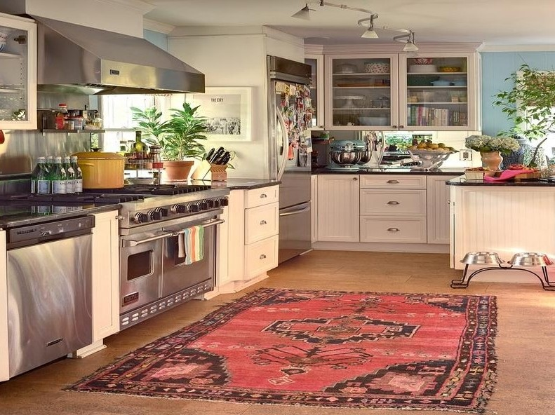Persian Rugs Are The Latest Kitchen Trend Better Homes Gardens