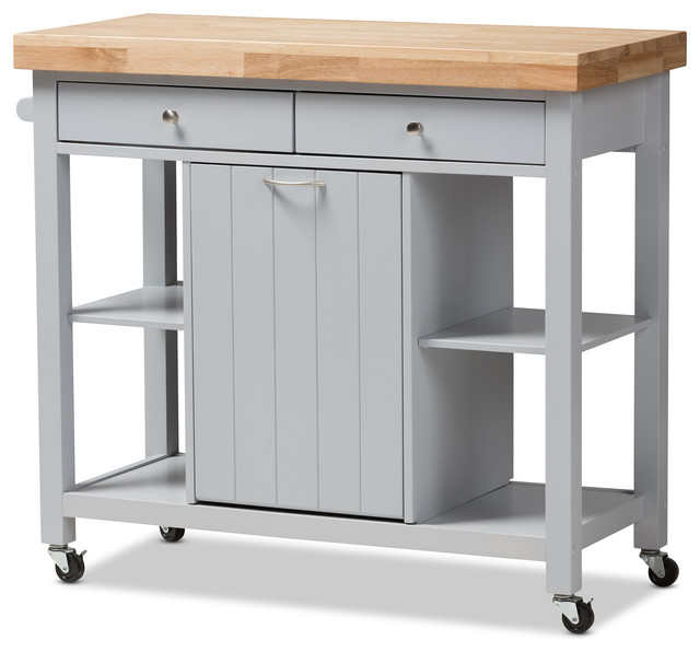 Get more space in kitchen with   kitchen carts