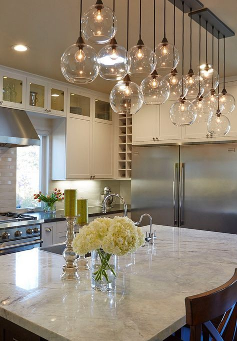 19 Home Lighting Ideas | For the Home | Modern kitchen lighting