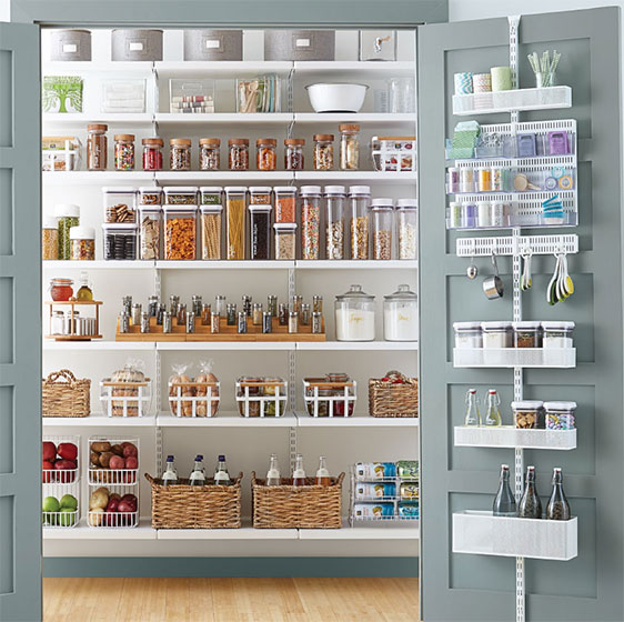 Pantry Shelving Ideas - Designs & Ideas for Kitchen Shelves & Pantries