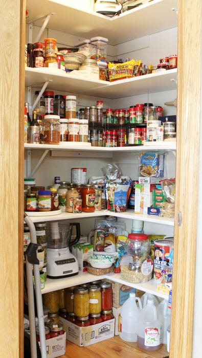 Kitchen Pantry Organization {Before & After} | i am baker