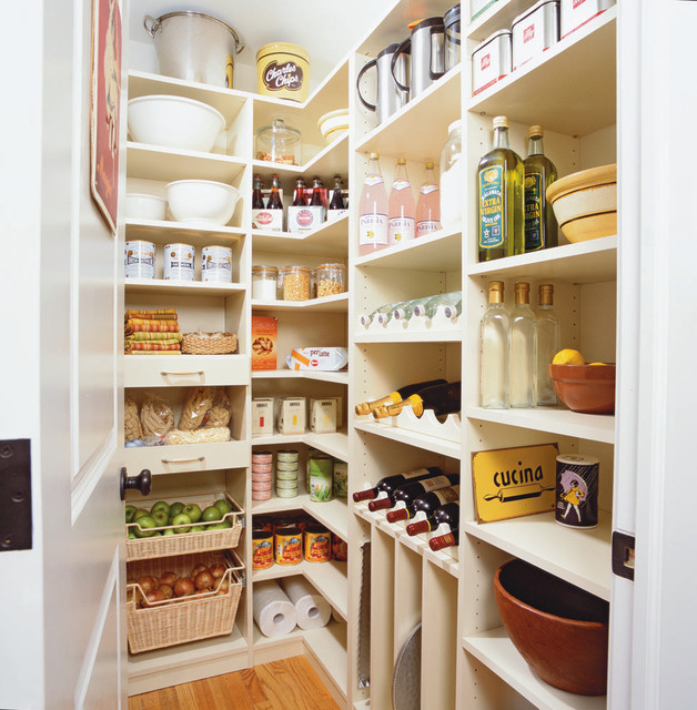 Spacious Kitchen Pantry - Riverside, CT - Traditional - Kitchen