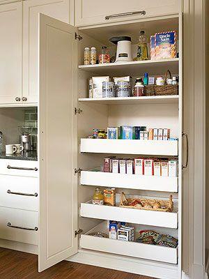 Kitchen Pantry Design Ideas | Kitchen | Kitchen pantry design, Built