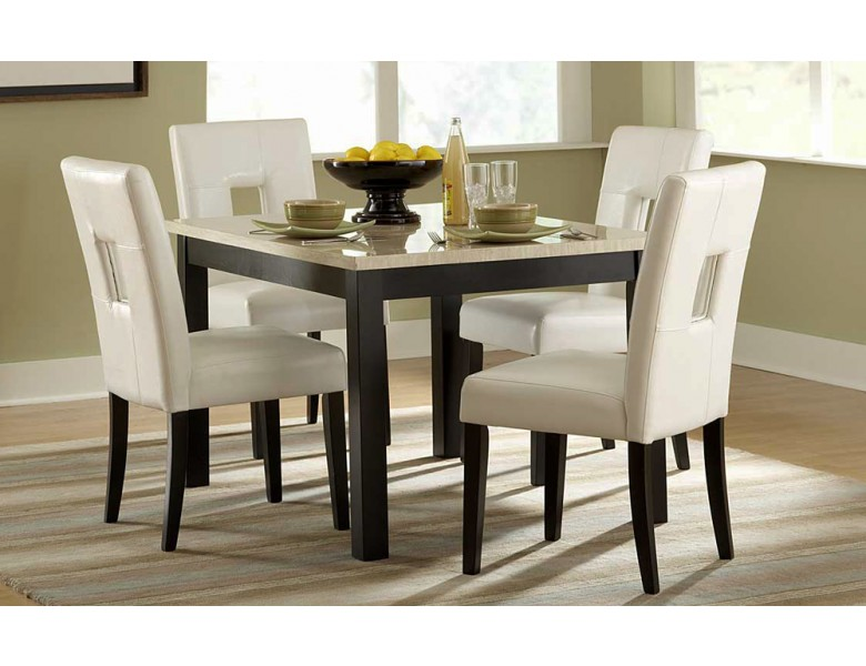 Archstone Marble Top Kitchen Table Set